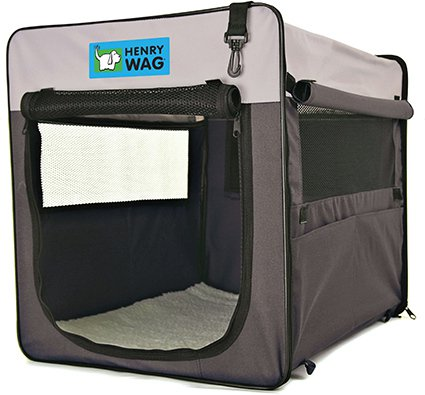Henry Wag Pet Crate Large - 79x55x60 cm.