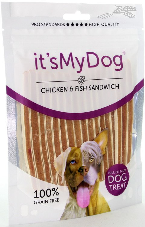 it's My Dog Chicken & Fish Sandwich - 85 gr.