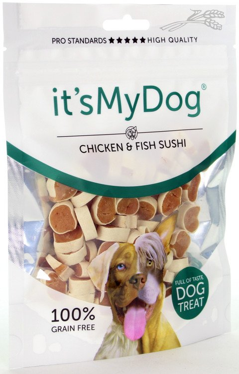 it's My Dog Chicken & Fish Sushi - 85 gr.