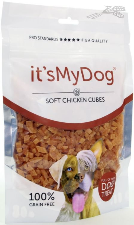 it's My Dog Chicken Soft Cubes  - 320 gr.