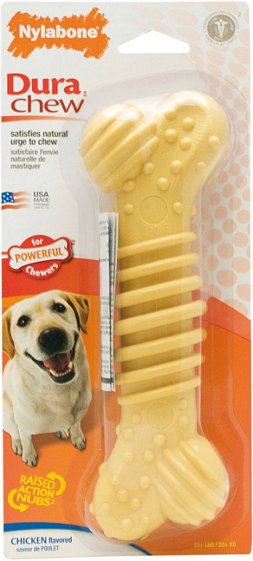 Nylabone Durable Chew Plus Chicken L - tot 30 kg