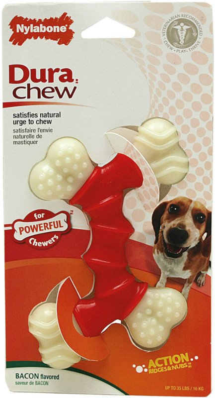Nylabone Durable Chew Double Bend Wolf - tot 15kg