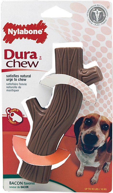 Nylabone Durable Chew Hollow Stick Wolf - tot 15kg