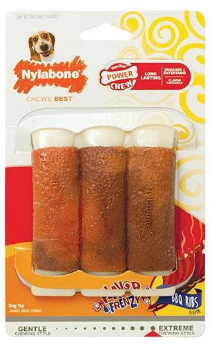 Nylabone Extreme Chew Pork Ribs Medium - Tot 15 kg.