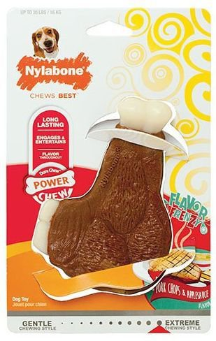 Nylabone Extreme Chew Pork Chops Medium - Tot 15 kg.