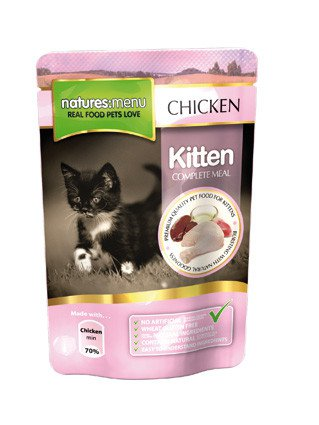 Natures Menu Cat Pouch Kitten - 100 gr. (12 verp.)