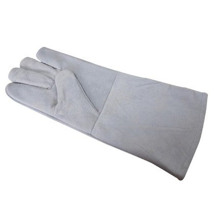 Lucky Reptile Protection Glove greyright hand