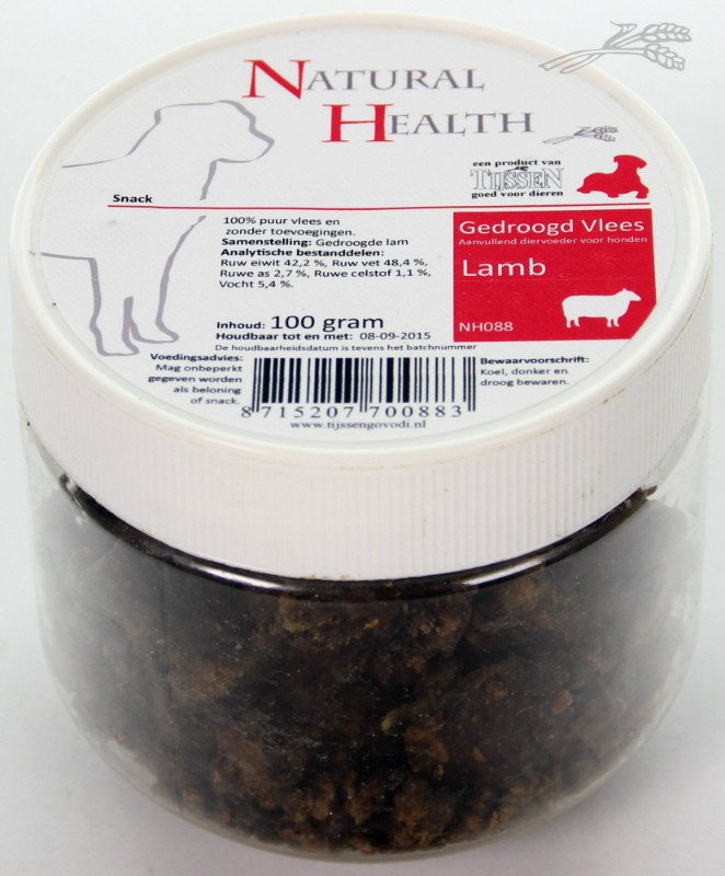 Natural Health Lamb Snack - 150 gr.