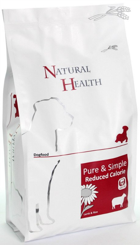 Natural Health Dog Lam & Rice Reduced - 2 kg.