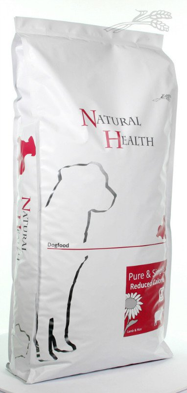 Natural Health Dog Lam & Rice Reduced - 12,5 kg.