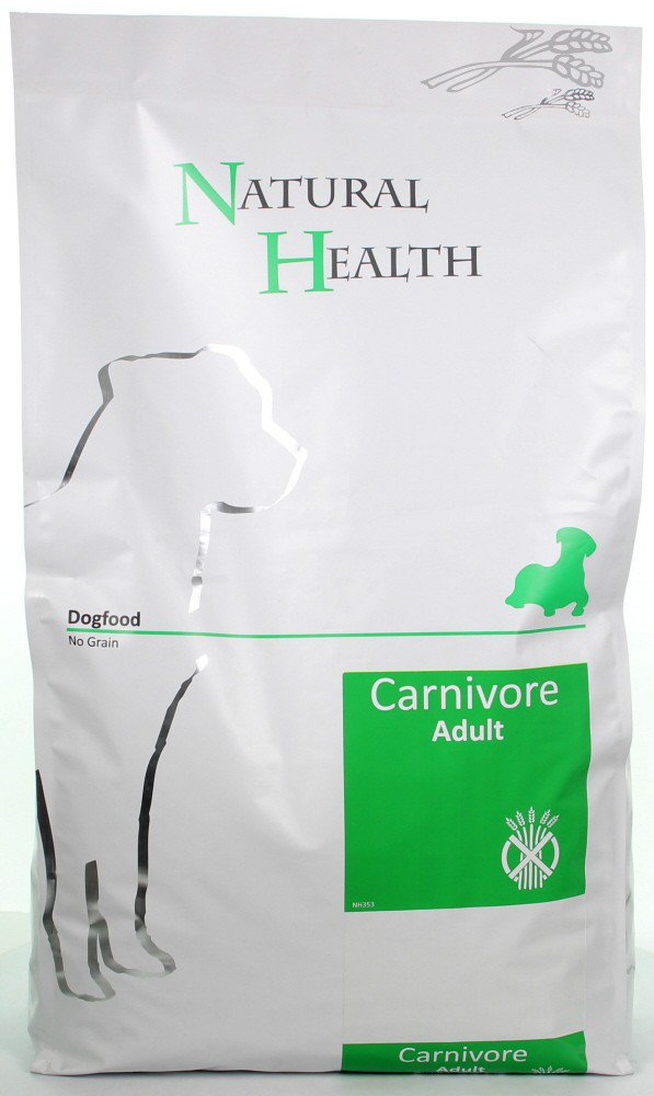 Natural Health Dog Carnivore - 7,5 kg.
