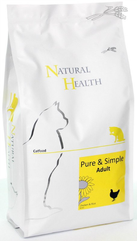 Natural Health Cat Adult - 2,5 kg.