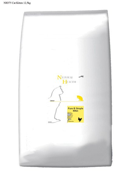 Natural Health Cat Kitten - 12,5 kg.