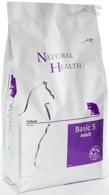 Natural Health Cat Basic 5 - 2,5 kg.