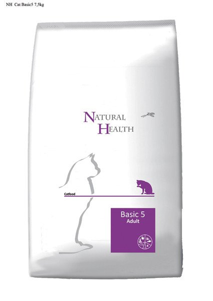 Natural Health Cat Basic 5 - 7,5 kg.