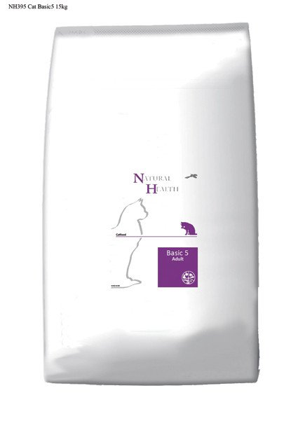 Natural Health Cat Basic 5 - 15 kg.