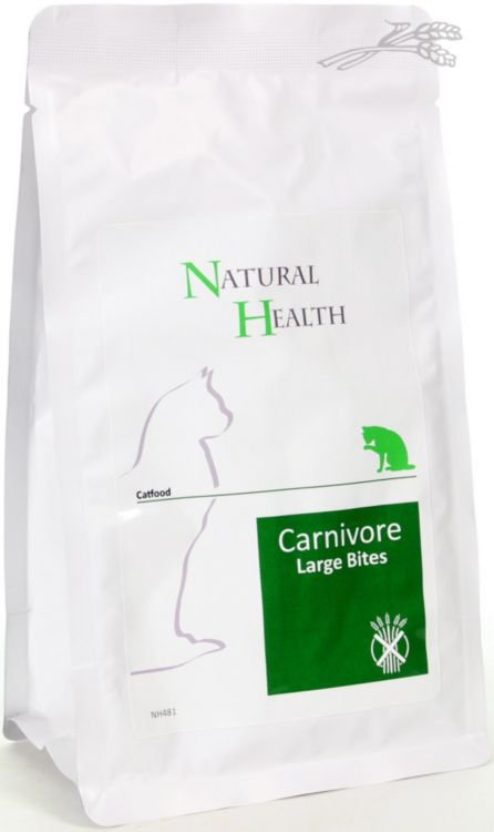 Natural Health Cat Carnivore Large Bite - 400 gr.