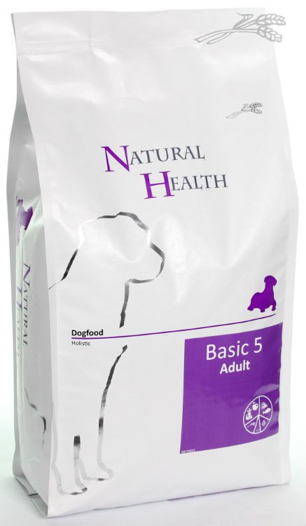 Natural Health Dog Basic Five - 3 kg.