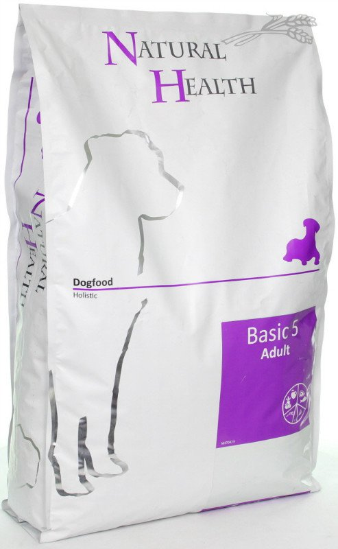 Natural Health Dog Basic Five - 7,5 kg.