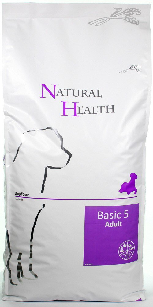 Natural Health Dog Basic Five - 12,5 kg.