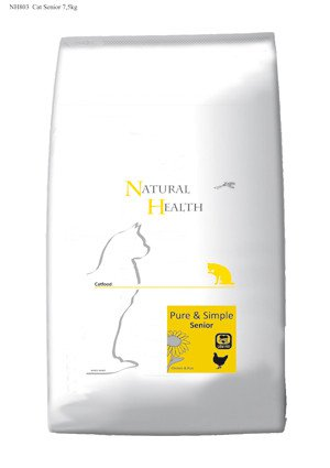 Natural Health Cat Senior - 7,5 kg.