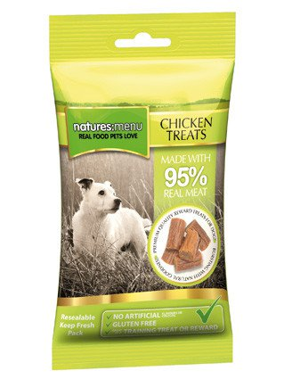 Natures Menu Dog Treats Chicken - 60 gr. (12 verp.)