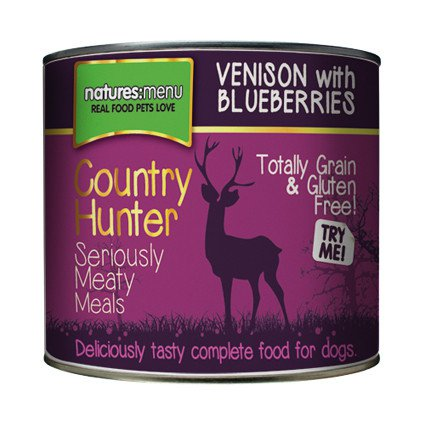Natures Menu Dog Country Hunter Venison - 600 gr. (6 verp.)