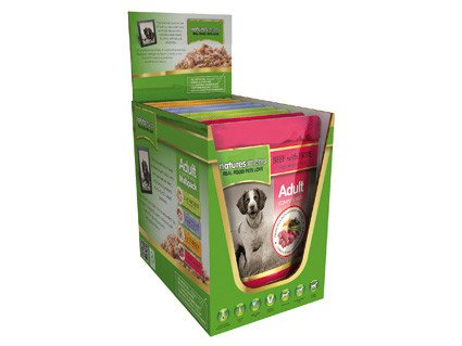 Natures Menu Dog Pouch Multi-Pack - 8x300 gr.