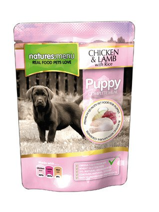 Natures Menu Dog Pouch Puppy - 300 gr. (8 verp.)