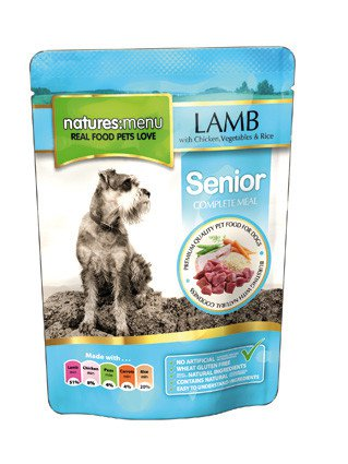 Natures Menu Dog Pouch Senior - 300 gr. (8 verp.)