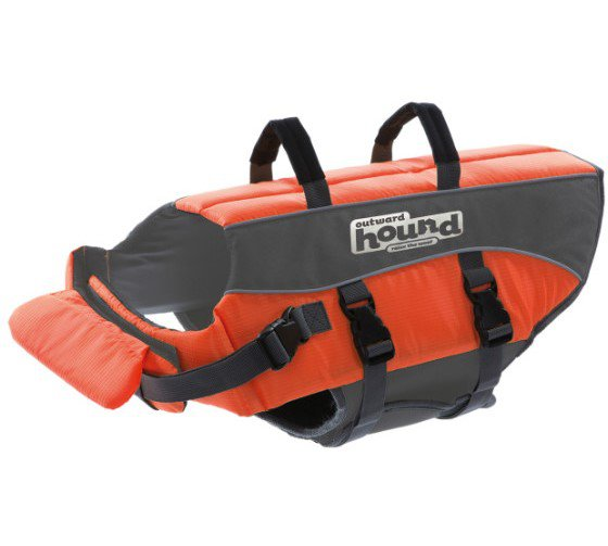 Outward Hound Ripstop Life Jacket Orange Large