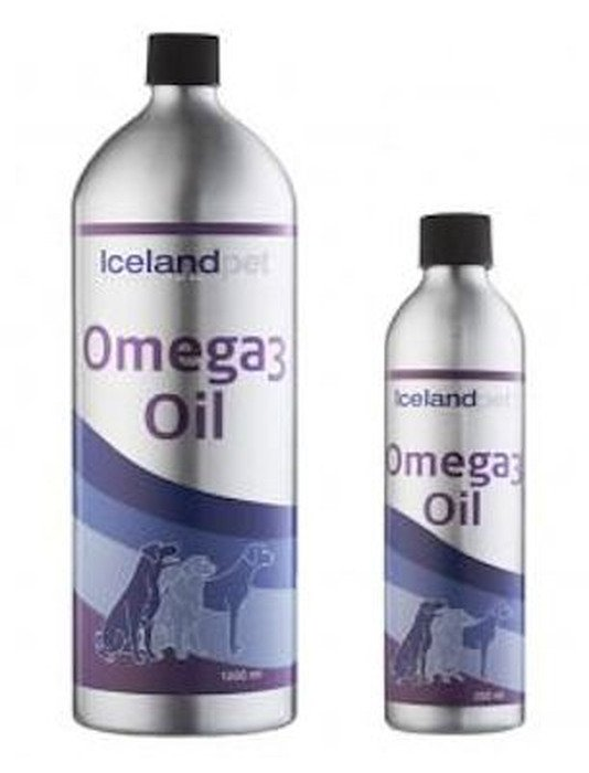 Icelandpet Omega-3 Oil - 250 ml.