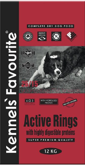Kennels Favourite Active Rings - 4 kg.