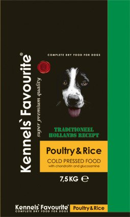 Kennels Favourite 'Cold-Pressed' Poultry - 7,5 kg.
