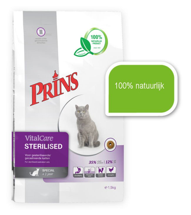 Prins Cat Sterilized - 1,5 kg.