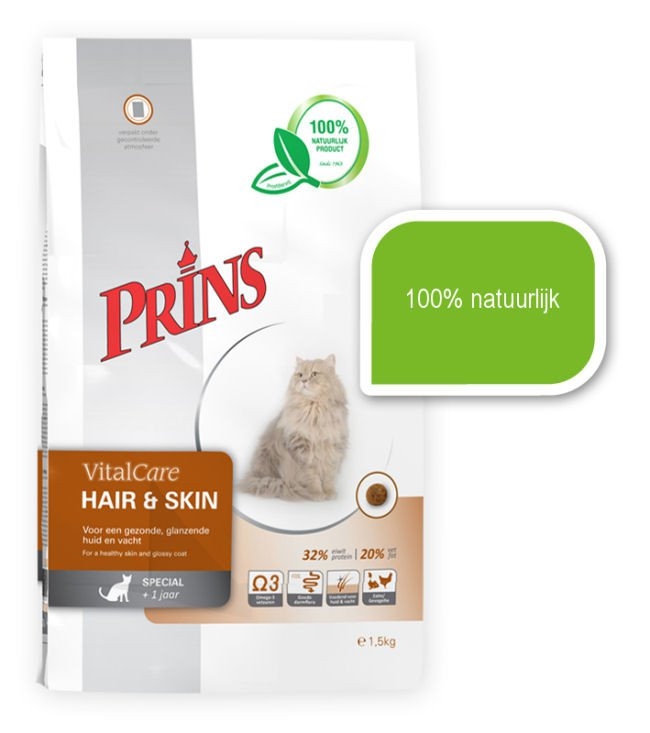 Prins Cat Hair & Skin - 5 kg.