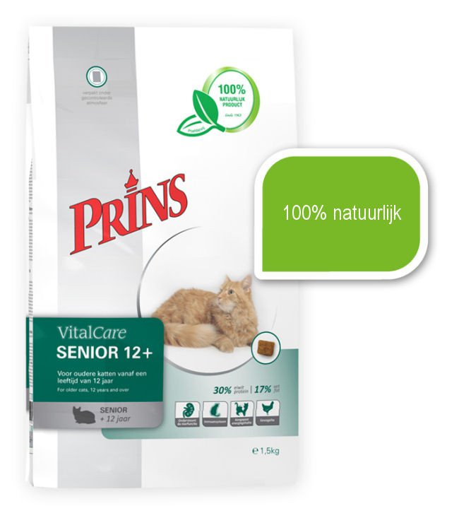 Prins Cat Senior 12+ - 1,5 kg.