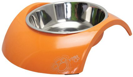 Rogz Bowlz Luna Orange - Medium