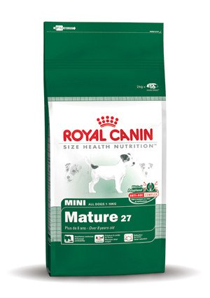 Royal Canin Mini Adult +8 - 2 kg.