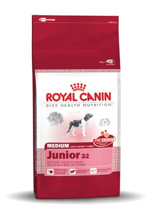 Royal Canin Medium Junior 32 - 4 kg.
