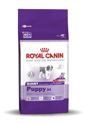 Royal Canin Giant Puppy 34 - 15 kg.