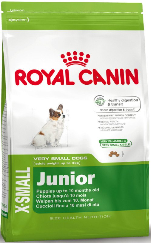Royal Canin X-Small Junior - 1,5 kg.