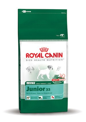 Royal Canin Mini Junior 33 - 8 kg.