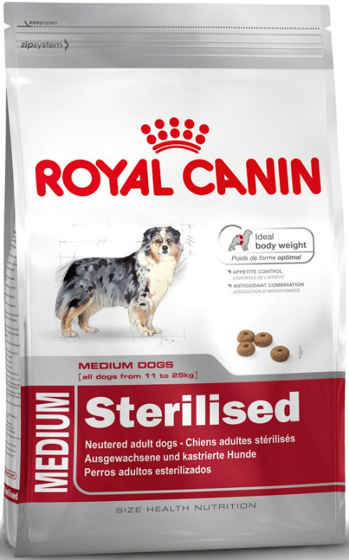 Royal Canin Medium Sterilised - 3 kg.