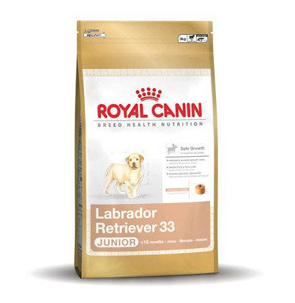 Royal Canin Labrador Retriever 33 Junior - 3 kg.