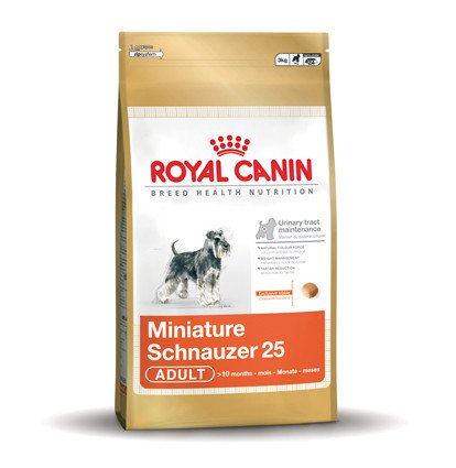 Royal Canin Mini Schnauzer Adult 25 - 7,5 kg.