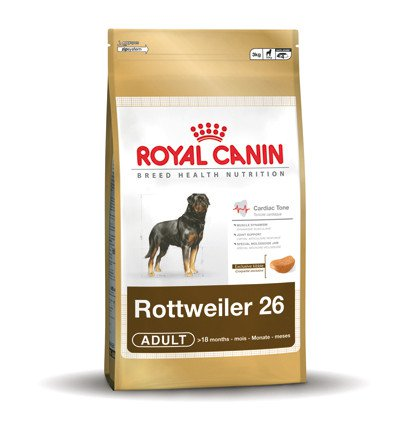 Royal Canin Rottweiler 26 Adult - 12 kg.
