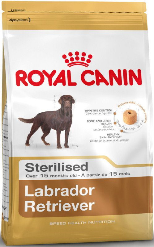 Royal Canin Labrador Retriever Sterilised - 3 kg.