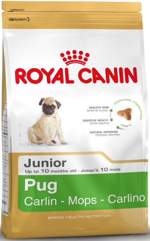 Royal Canin Pug Junior - 1,5 kg.