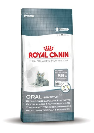Royal Canin Oral Sensitive Cat - 8 kg.